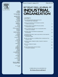 8.International Journal of Industrial Organization