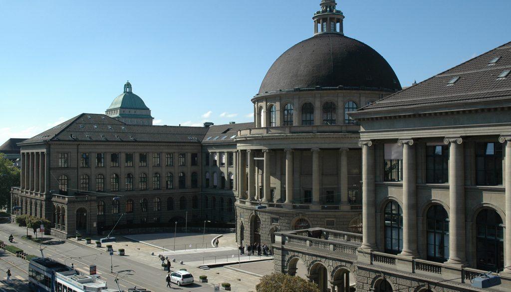 ETH Zürich, Zentrum, Hauptgebäude
